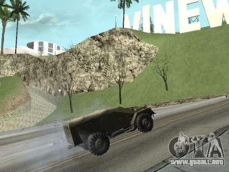 BTR-40 para la visión correcta GTA San Andreas
