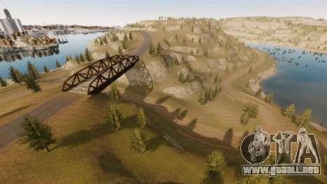 Cliffside ubicación Rally para GTA 4 décima de pantalla