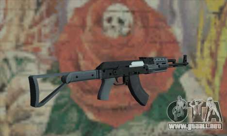 El AK-47 de GTA V para GTA San Andreas segunda pantalla