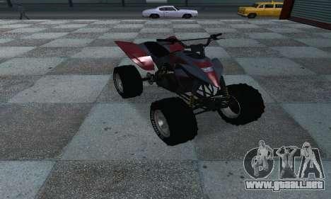 GTA 5 Blazer ATV para la visión correcta GTA San Andreas