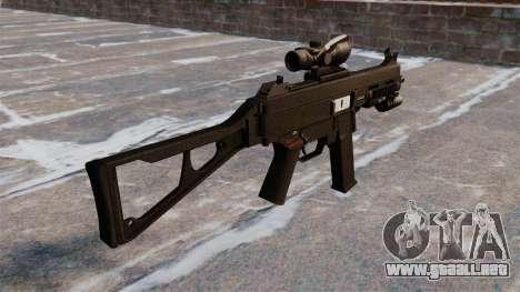 UMP45 subfusil ametrallador para GTA 4 segundos de pantalla