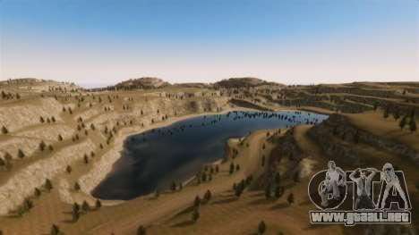 Cliffside ubicación Rally para GTA 4 undécima de pantalla