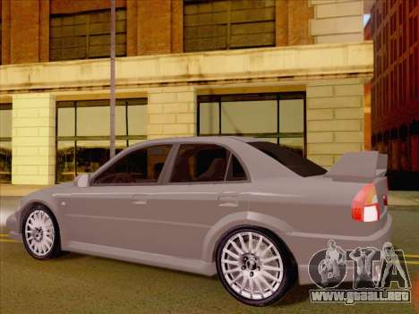 Mitsubishi Lancer Evolution VI LE para la visión correcta GTA San Andreas