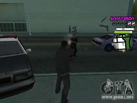 HUD para GTA San Andreas quinta pantalla