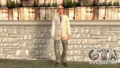 El doctor Kleiner para GTA San Andreas