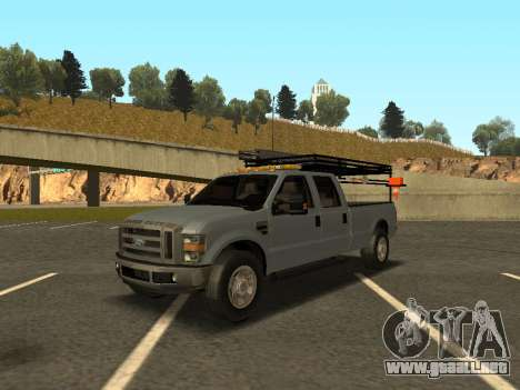 Ford F-350 para GTA San Andreas left