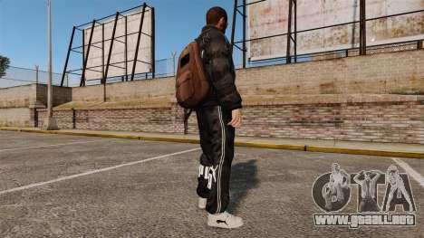 Ropa Puma para GTA 4 tercera pantalla
