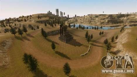 Cliffside ubicación Rally para GTA 4 segundos de pantalla