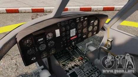 Bell UH-1 Iroquois v2.0 Gunship [EPM] para GTA 4 vista hacia atrás