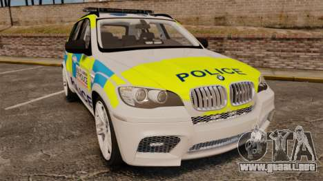 BMW X5 Police [ELS] para GTA 4