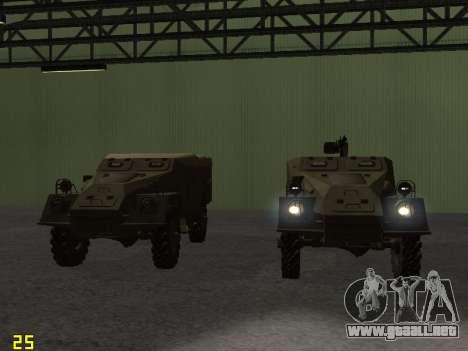 BTR-40 para el motor de GTA San Andreas