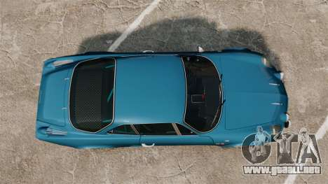 Renault Alpine A110 1600 S para GTA 4 visión correcta
