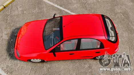 FSO Lanos Plus 2007 Limited Version para GTA 4 visión correcta