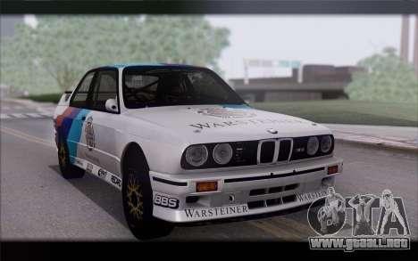 BMW M3 E30 Racing Version para GTA San Andreas