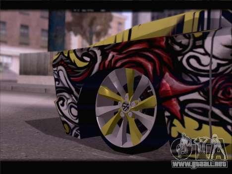 New Slamvan para vista inferior GTA San Andreas