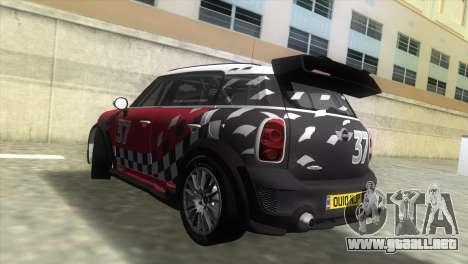 Mini Countryman WRC para GTA Vice City left