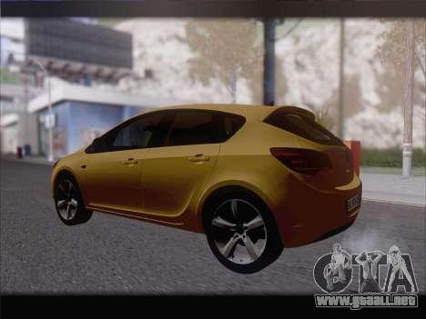 Opel Astra J 2011 para la visión correcta GTA San Andreas
