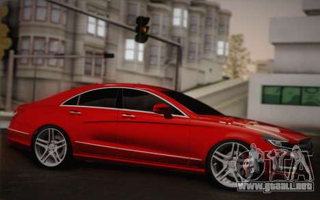 Mercedes-Benz CLS 63 AMG 2012 Fixed para visión interna GTA San Andreas