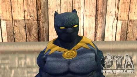 Black Panther para GTA San Andreas tercera pantalla