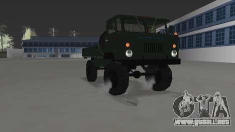 GAZ 66 para GTA Vice City visión correcta