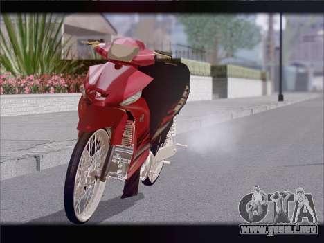 Yamaha Vega ZR para la visión correcta GTA San Andreas