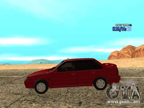 VAZ 2115 Taxi para GTA San Andreas left