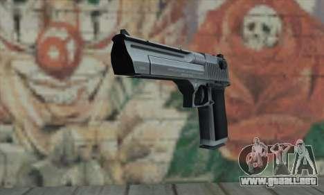 Desert Eagle plata para GTA San Andreas
