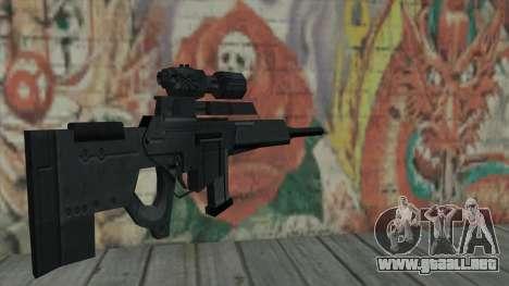 Rifle de francotirador de Resident Evil 4 para GTA San Andreas segunda pantalla
