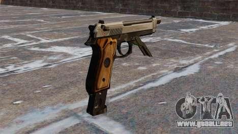 Auto Beretta M93R para GTA 4 segundos de pantalla