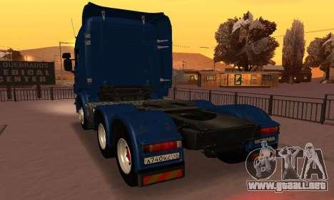 Scania Topline R730 V8 para GTA San Andreas left