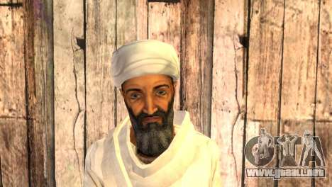 USAM Ben Laden para GTA San Andreas tercera pantalla