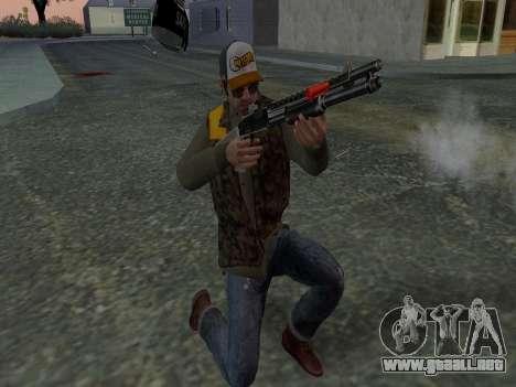 Trevor Phillips para GTA San Andreas décimo de pantalla