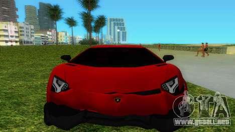 Lamborghini Aventador LP720-4 50th Anniversario para el motor de GTA Vice City