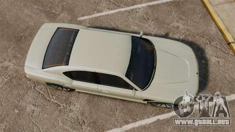 GTA V Bravado Buffalo STD8 v2.0 para GTA 4 visión correcta