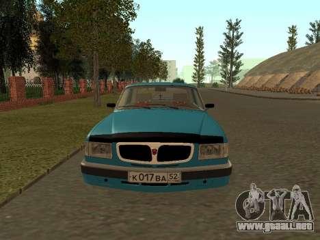 GAZ 3110 Volga para GTA San Andreas left