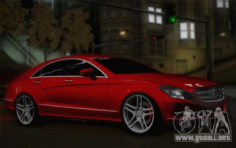 Mercedes-Benz CLS 63 AMG 2012 Fixed para GTA San Andreas left
