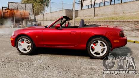 Mazda (Miata) MX-5 para GTA 4 left