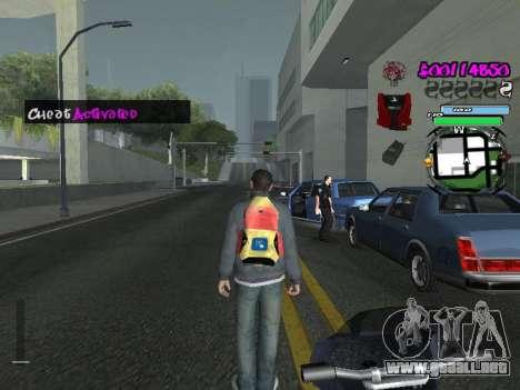 HUD para GTA San Andreas twelth pantalla
