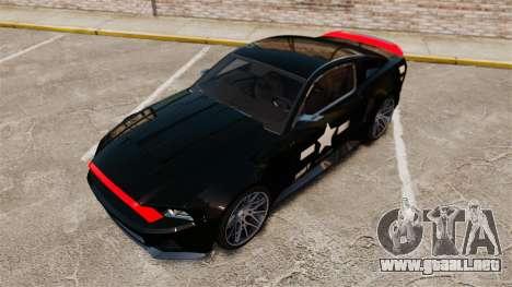 Ford Mustang GT 2013 NFS Edition para GTA 4 interior