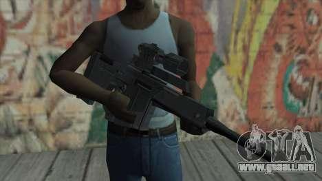 Rifle de francotirador de Resident Evil 4 para GTA San Andreas tercera pantalla