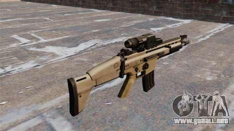Rifle de asalto FN SCAR para GTA 4 segundos de pantalla