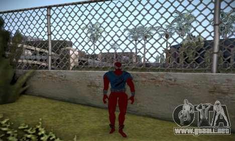 Spider man EOT Full Skins Pack para GTA San Andreas sexta pantalla