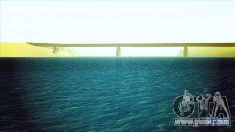 Agua HD para GTA San Andreas segunda pantalla