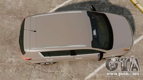 Kia Sportage Unmarked Police [ELS] para GTA 4 visión correcta