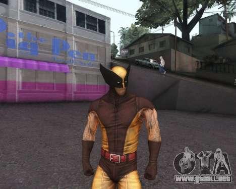 X-men Origins: Wolverine [Skins Pack] para GTA San Andreas