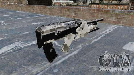 Rifle de Crysis 2 para GTA 4 segundos de pantalla