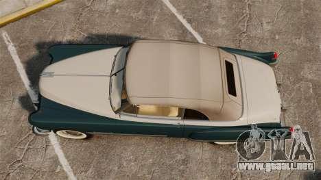 Cadillac Series 62 1949 para GTA 4 visión correcta