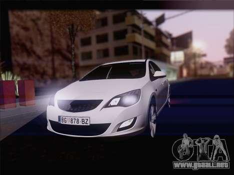 Opel Astra J 2011 para GTA San Andreas