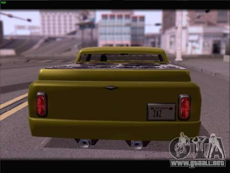 New Slamvan para vista lateral GTA San Andreas