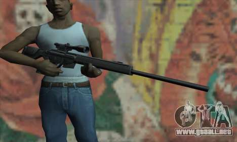 PSG-1 para GTA San Andreas tercera pantalla